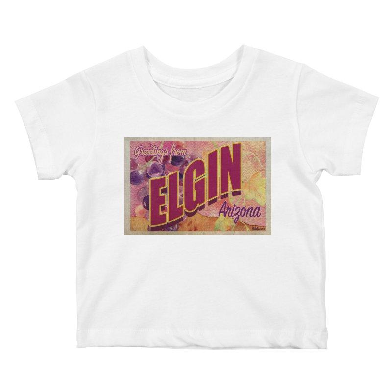 Elgin, AZ. Kids Baby T-Shirt by Nuttshaw Studios