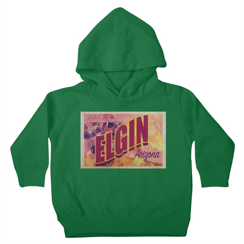 Elgin, AZ. Kids Toddler Pullover Hoody by Nuttshaw Studios