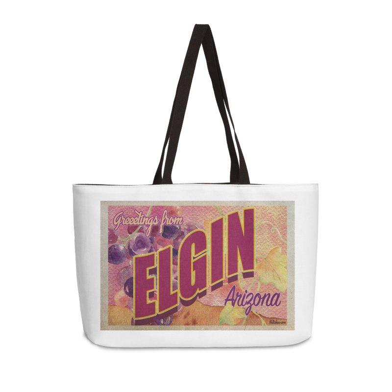 Elgin, AZ. Accessories Weekender Bag Bag by Nuttshaw Studios