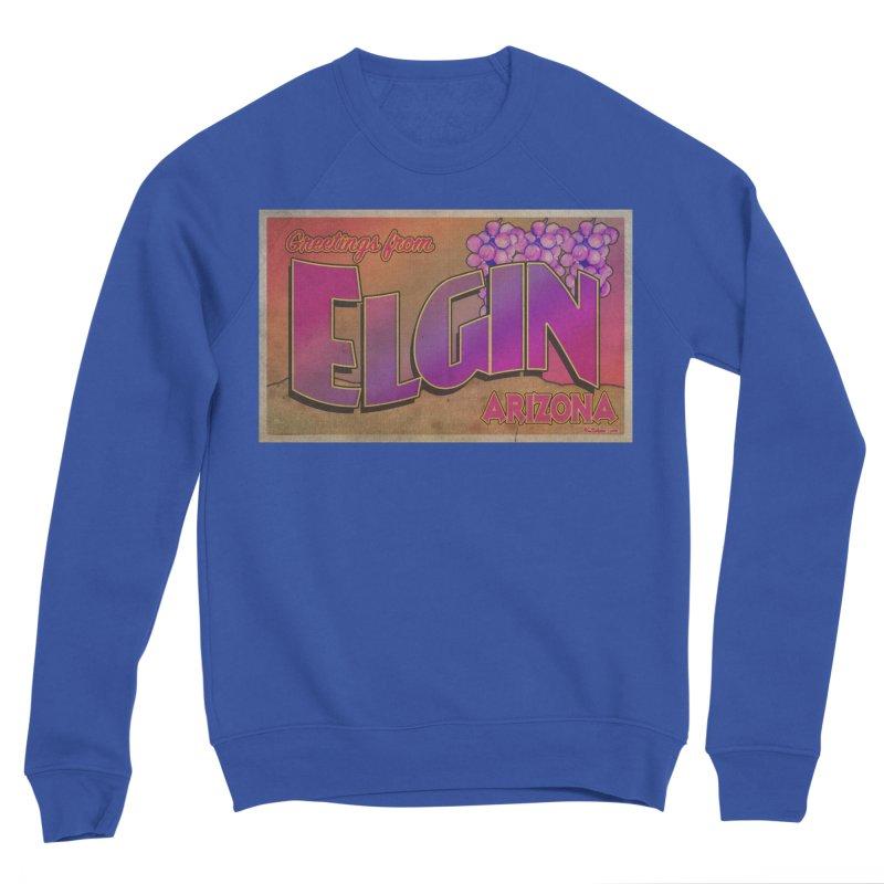 Elgin, AZ. Men's Sponge Fleece Sweatshirt by Nuttshaw Studios