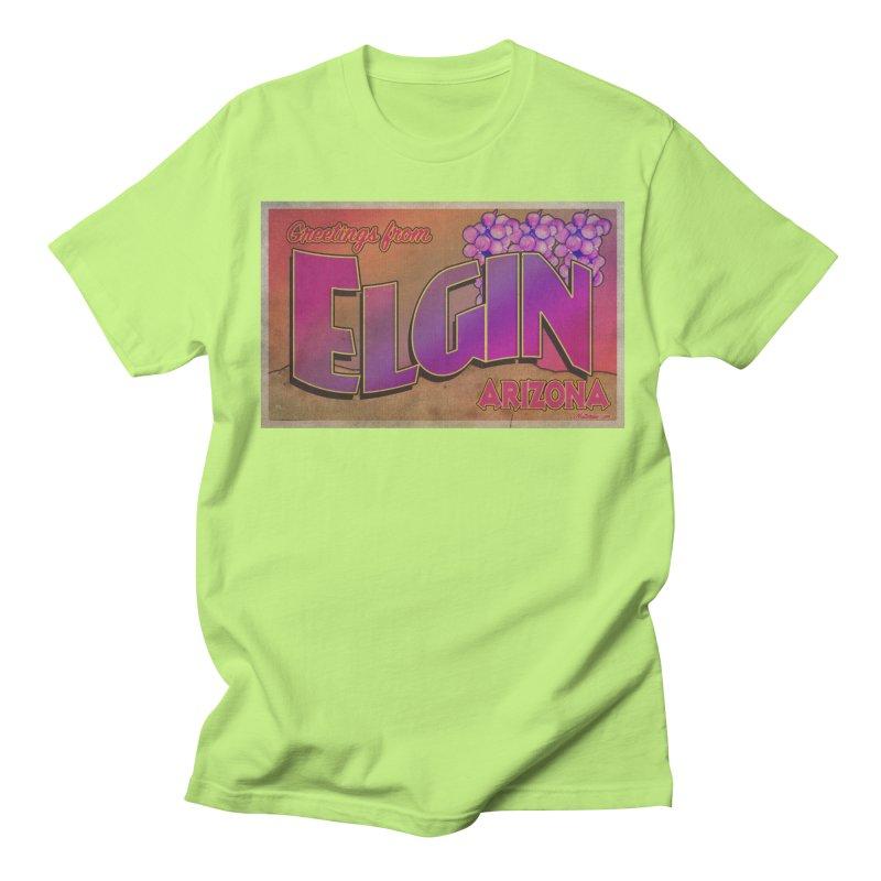 Elgin, AZ. Women's Regular Unisex T-Shirt by Nuttshaw Studios
