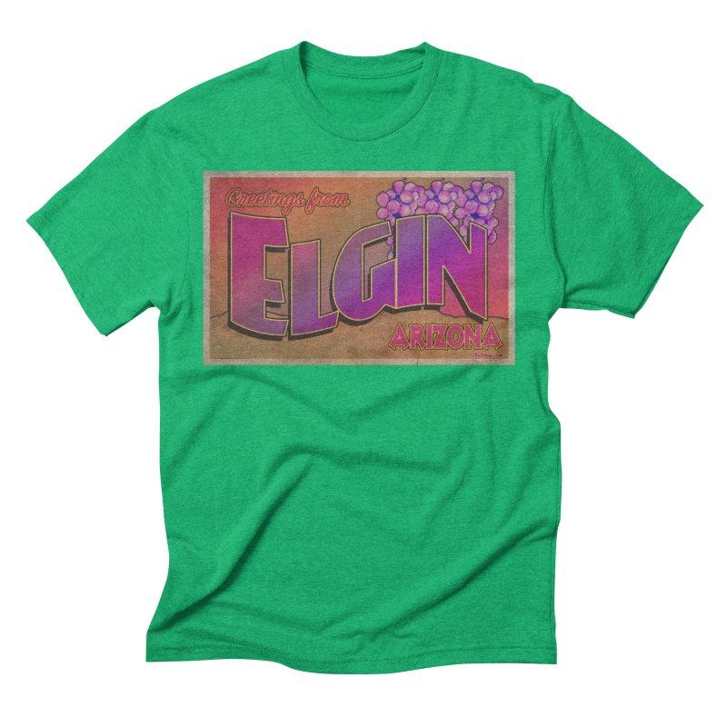 Elgin, AZ. Men's Triblend T-Shirt by Nuttshaw Studios