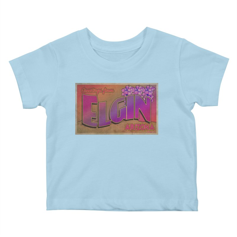 Elgin, AZ. Kids Baby T-Shirt by Nuttshaw Studios