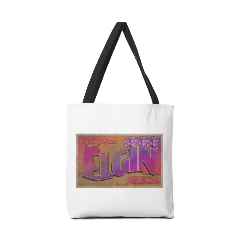 Elgin, AZ. Accessories Bag by Nuttshaw Studios