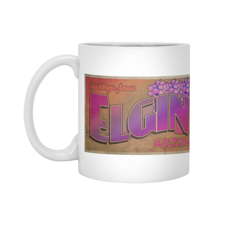 Elgin, AZ. Accessories Standard Mug by Nuttshaw Studios