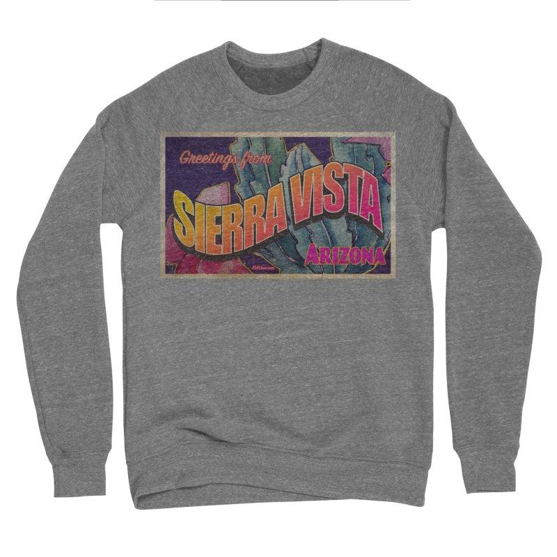 Sierra Vista, AZ. Men's Sponge Fleece Sweatshirt by Nuttshaw Studios
