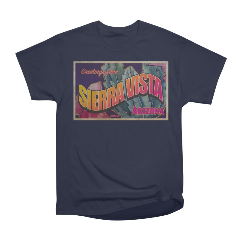 Sierra Vista, AZ. Women's Heavyweight Unisex T-Shirt by Nuttshaw Studios