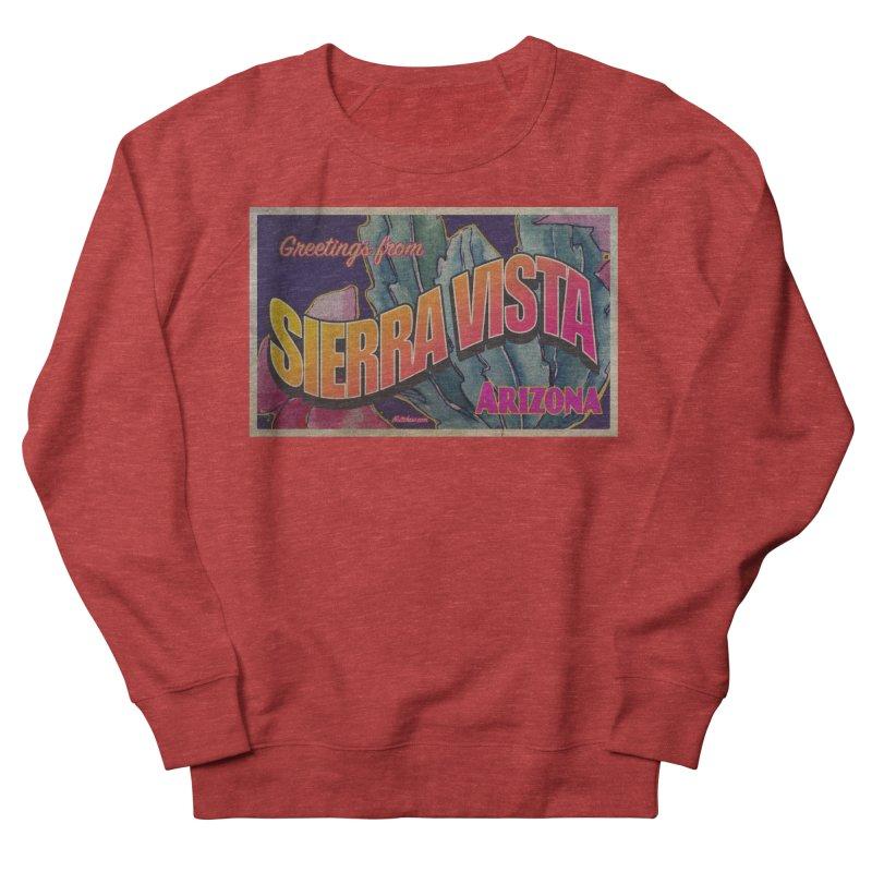 Sierra Vista, AZ. Men's French Terry Sweatshirt by Nuttshaw Studios
