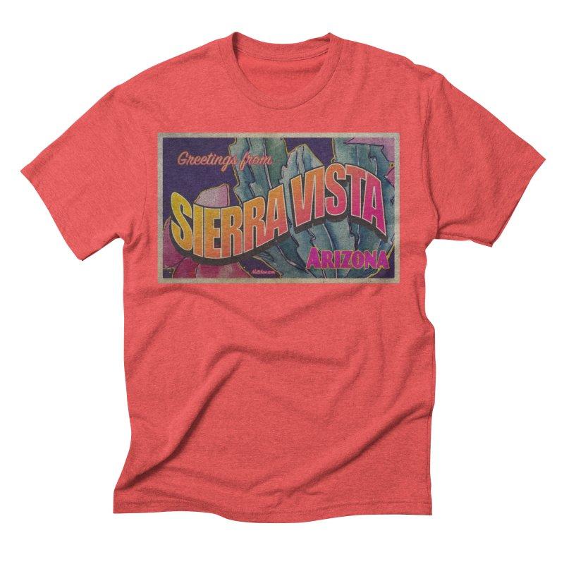 Sierra Vista, AZ. Men's Triblend T-Shirt by Nuttshaw Studios