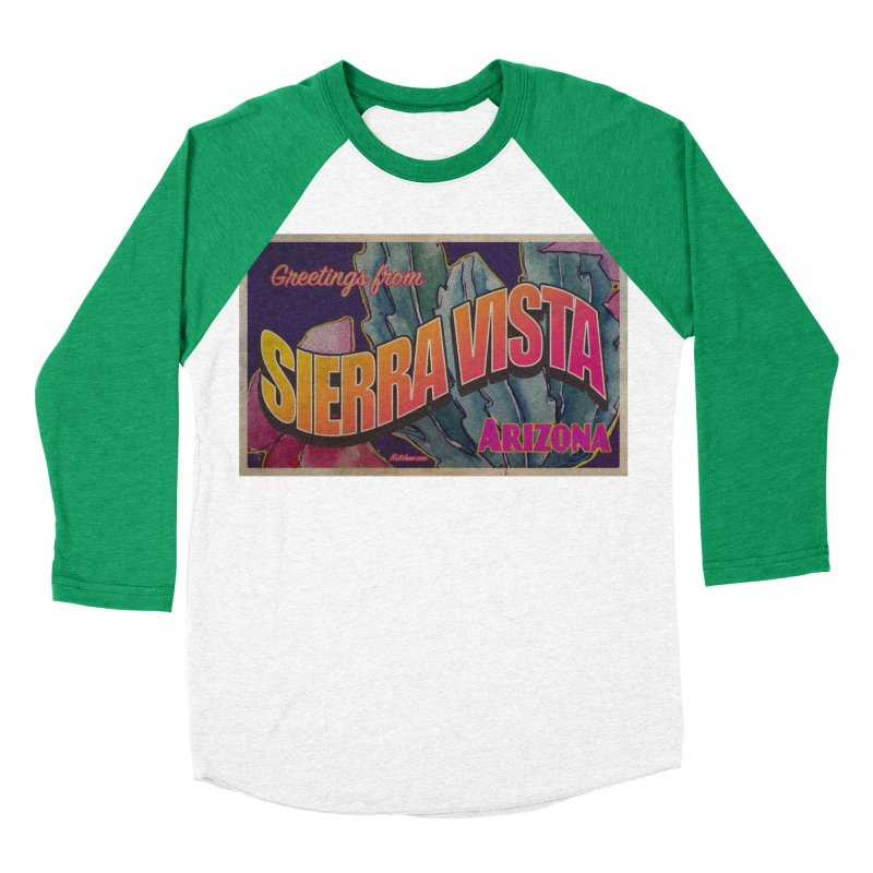 Sierra Vista, AZ. Women's Baseball Triblend Longsleeve T-Shirt by Nuttshaw Studios