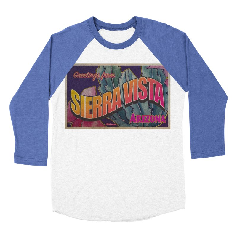 Sierra Vista, AZ. Men's Baseball Triblend Longsleeve T-Shirt by Nuttshaw Studios