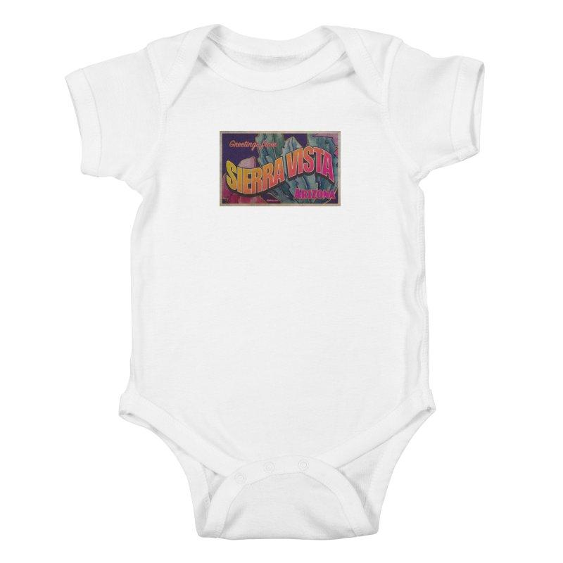Sierra Vista, AZ. Kids Baby Bodysuit by Nuttshaw Studios