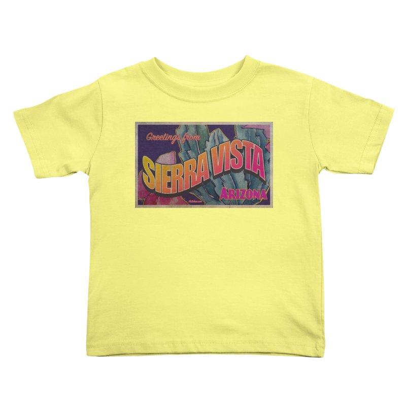 Sierra Vista, AZ. Kids Toddler T-Shirt by Nuttshaw Studios