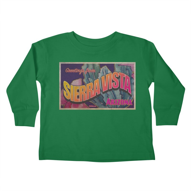 Sierra Vista, AZ. Kids Toddler Longsleeve T-Shirt by Nuttshaw Studios