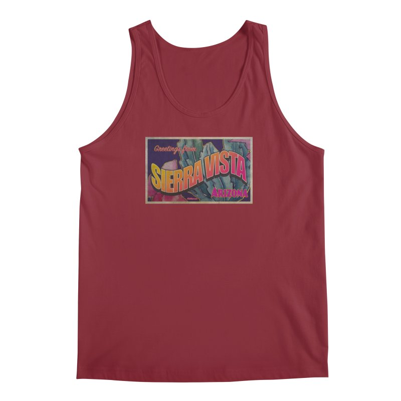 Sierra Vista, AZ. Men's Regular Tank by Nuttshaw Studios