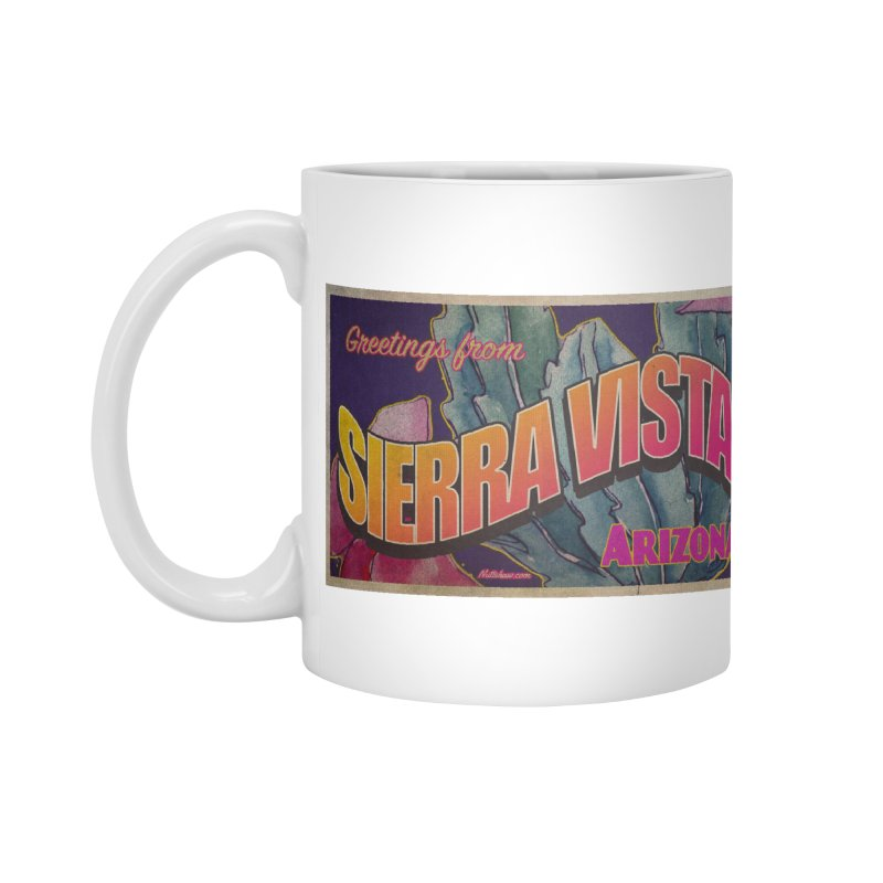 Sierra Vista, AZ. Accessories Mug by Nuttshaw Studios