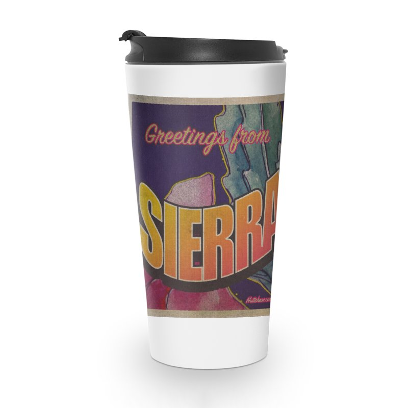 Sierra Vista, AZ. Accessories Travel Mug by Nuttshaw Studios