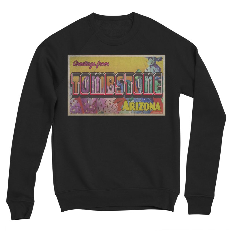 Tombstone, AZ Men's Sponge Fleece Sweatshirt by Nuttshaw Studios