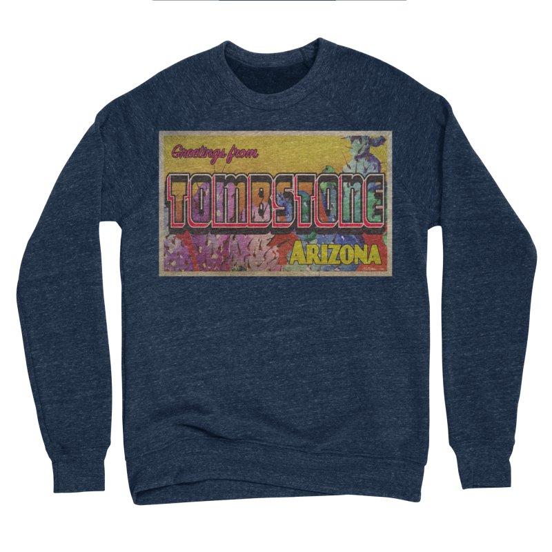 Tombstone, AZ Women's Sponge Fleece Sweatshirt by Nuttshaw Studios