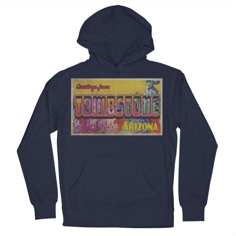 Tombstone, AZ Men's Pullover Hoody by Nuttshaw Studios