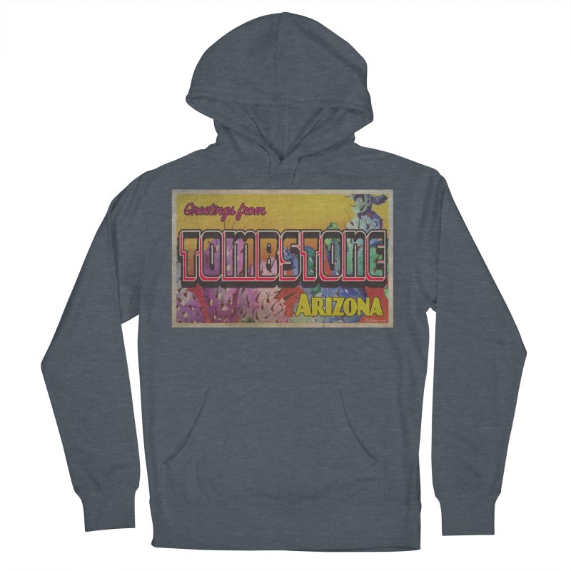 Tombstone, AZ Women's French Terry Pullover Hoody by Nuttshaw Studios