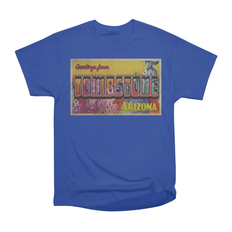 Tombstone, AZ Men's Heavyweight T-Shirt by Nuttshaw Studios