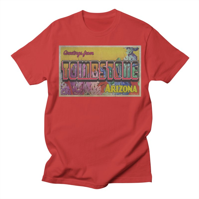 Tombstone, AZ Women's Regular Unisex T-Shirt by Nuttshaw Studios