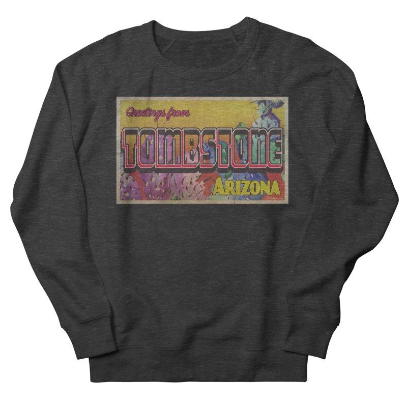 Tombstone, AZ Women's French Terry Sweatshirt by Nuttshaw Studios