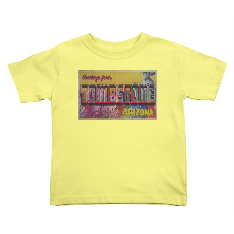 Tombstone, AZ Kids Toddler T-Shirt by Nuttshaw Studios