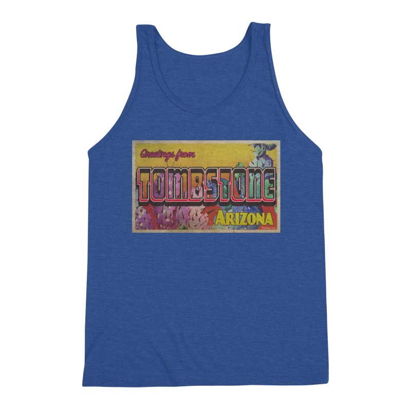 Tombstone, AZ Men's Tank by Nuttshaw Studios