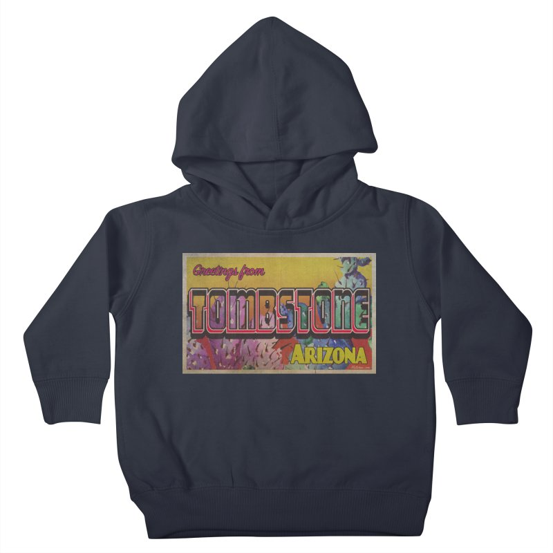 Tombstone, AZ Kids Toddler Pullover Hoody by Nuttshaw Studios