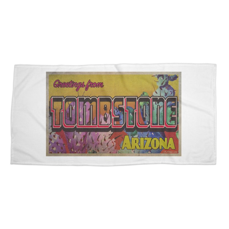 Tombstone, AZ Accessories Beach Towel by Nuttshaw Studios