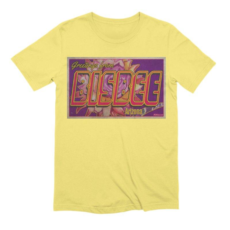 Bisbee, AZ. Men's Extra Soft T-Shirt by Nuttshaw Studios