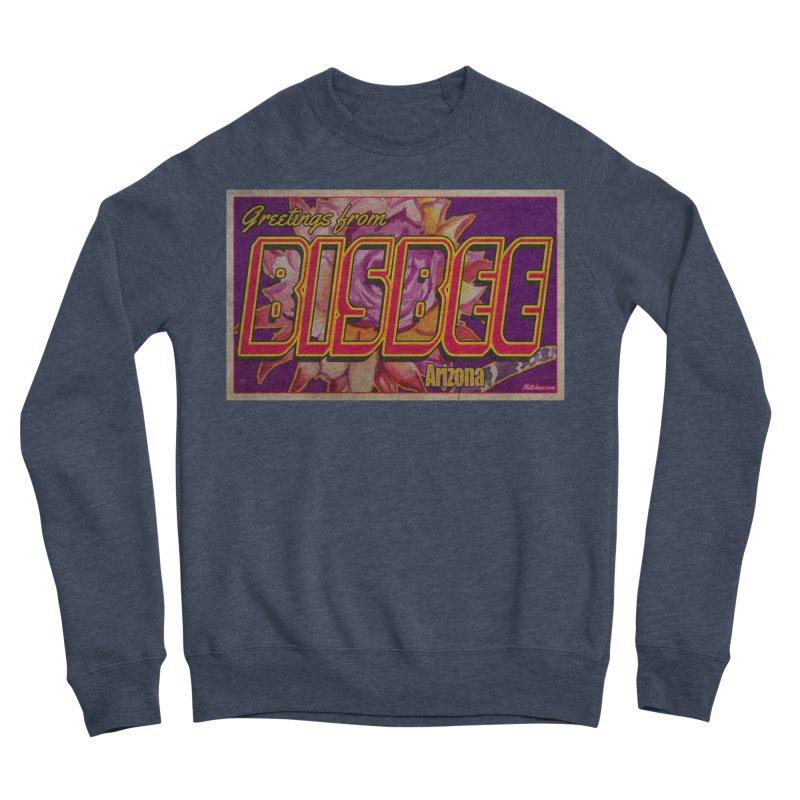 Bisbee, AZ. Men's Sponge Fleece Sweatshirt by Nuttshaw Studios
