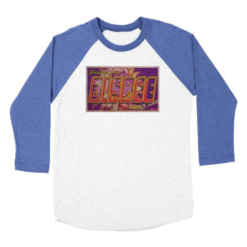 Bisbee, AZ. Women's Longsleeve T-Shirt by Nuttshaw Studios