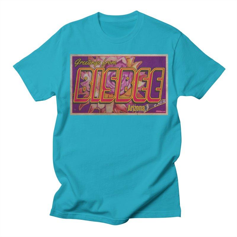 Bisbee, AZ. Men's Regular T-Shirt by Nuttshaw Studios