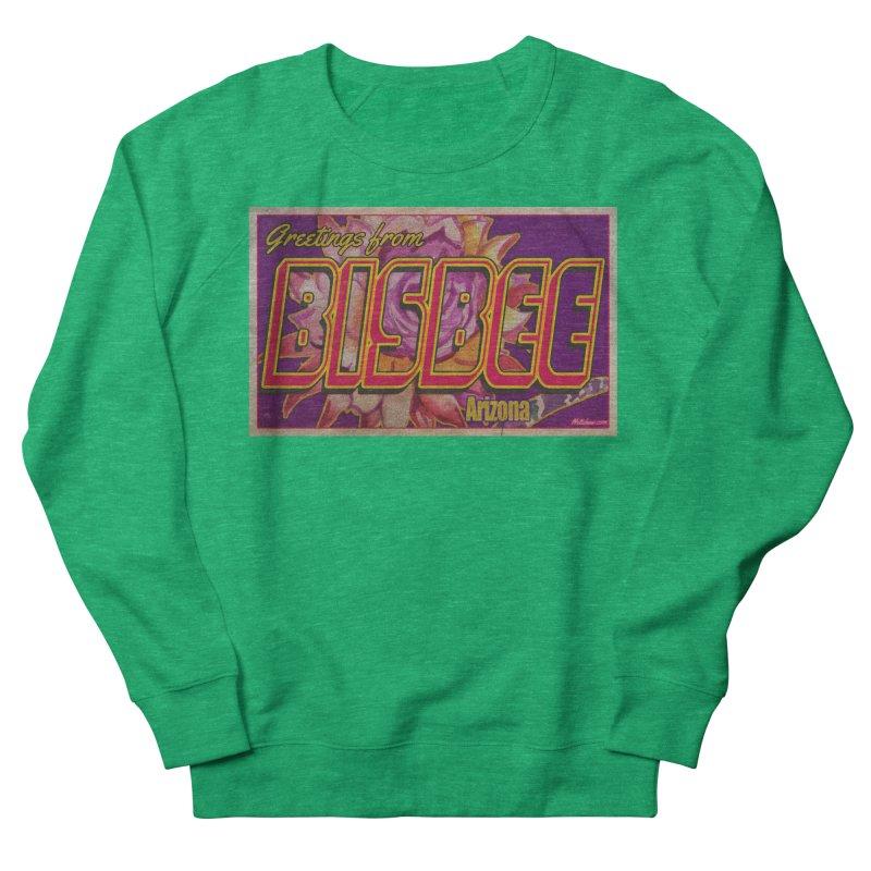 Bisbee, AZ. Women's Sweatshirt by Nuttshaw Studios