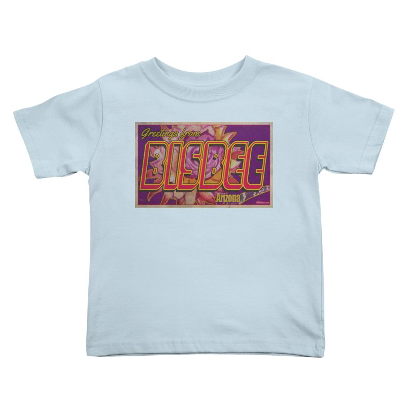 Bisbee, AZ. Kids Toddler T-Shirt by Nuttshaw Studios