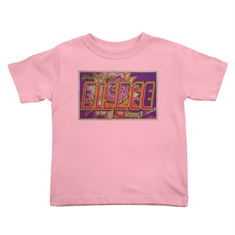 Bisbee, AZ. Kids Toddler T-Shirt by Nuttshaw Studios
