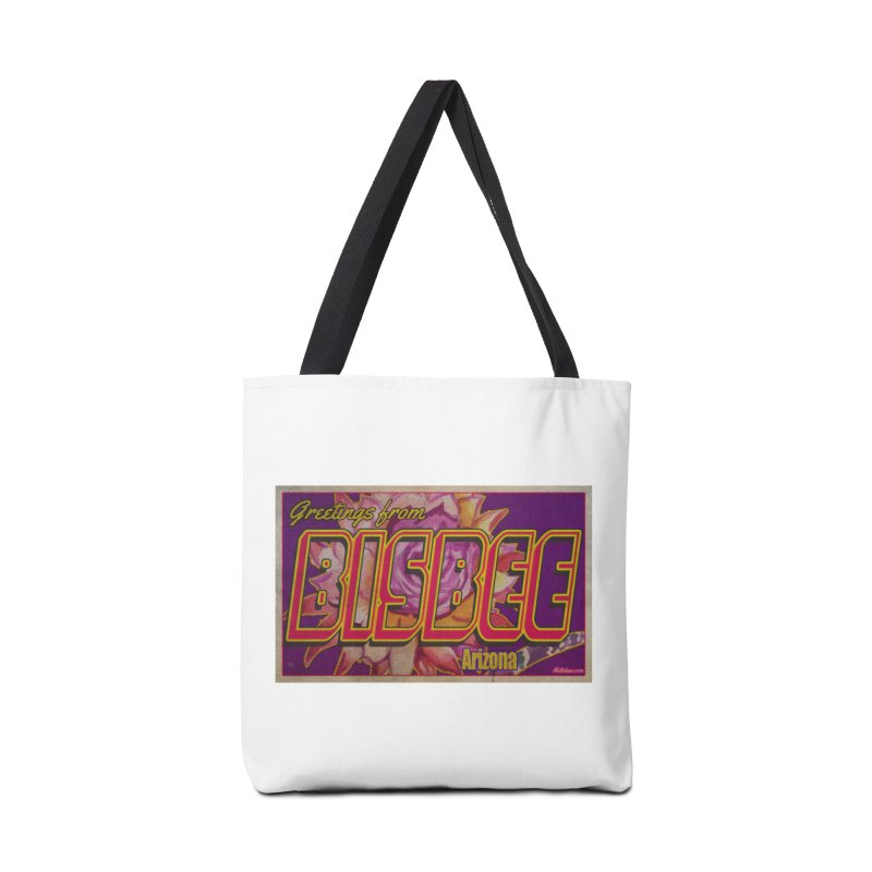 Bisbee, AZ. Accessories Bag by Nuttshaw Studios