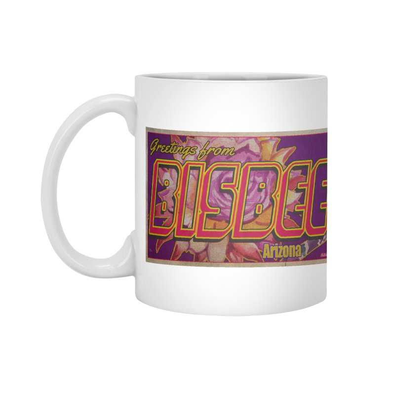 Bisbee, AZ. Accessories Mug by Nuttshaw Studios
