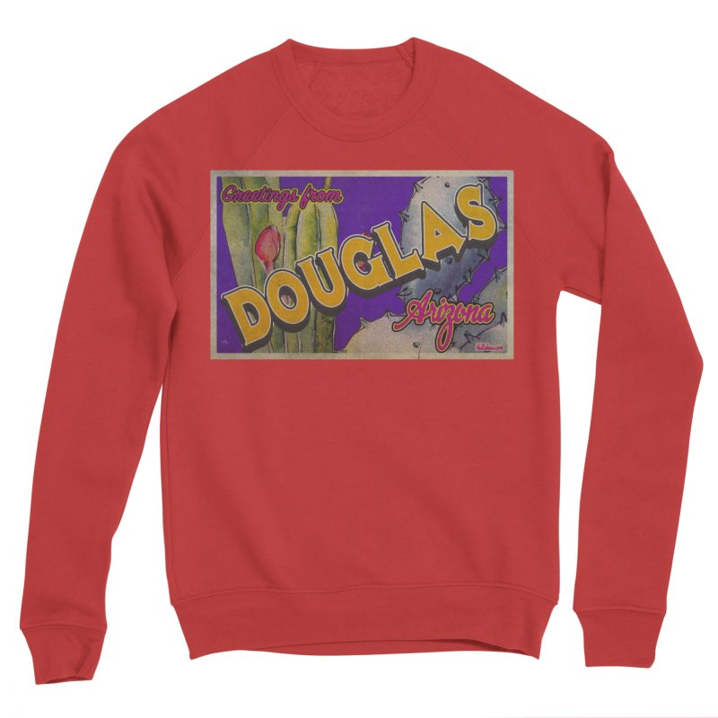 Douglas, AZ. Women's Sponge Fleece Sweatshirt by Nuttshaw Studios