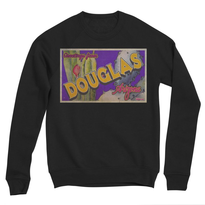 Douglas, AZ. Men's Sponge Fleece Sweatshirt by Nuttshaw Studios