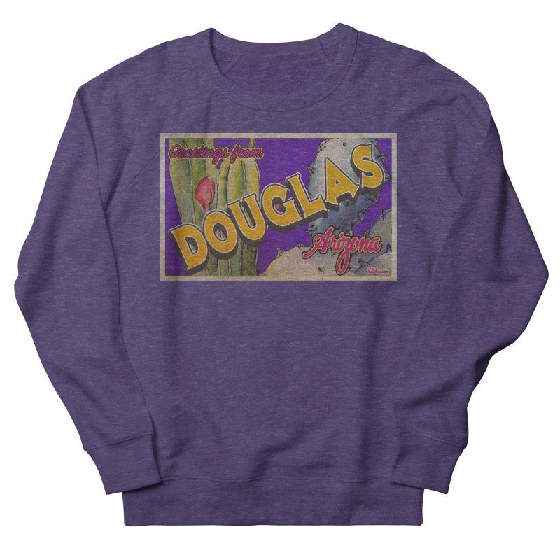 Douglas, AZ. Women's French Terry Sweatshirt by Nuttshaw Studios