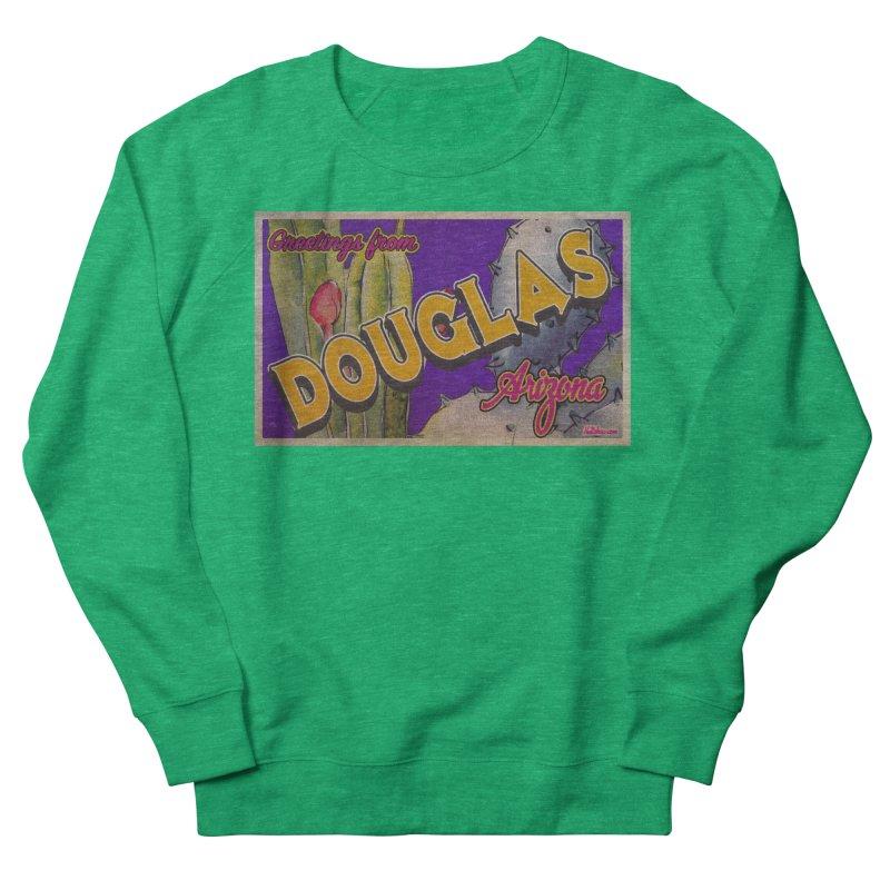 Douglas, AZ. Men's French Terry Sweatshirt by Nuttshaw Studios