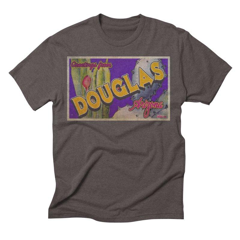 Douglas, AZ. Men's Triblend T-Shirt by Nuttshaw Studios
