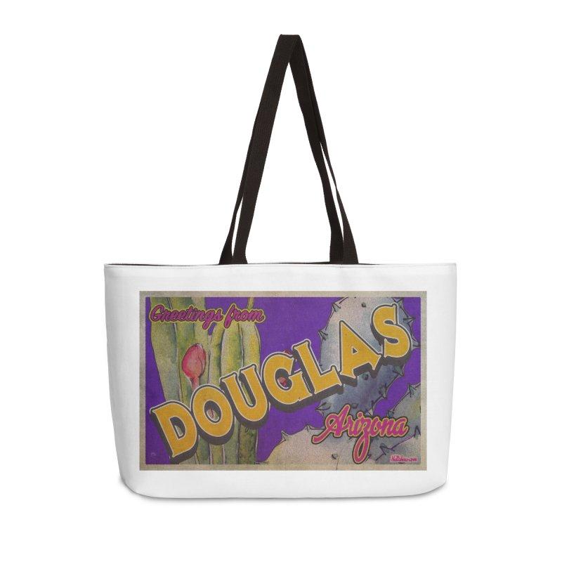 Douglas, AZ. Accessories Weekender Bag Bag by Nuttshaw Studios