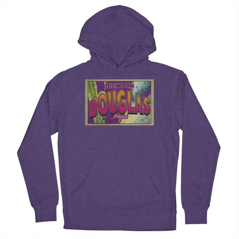 Douglas, AZ. Men's Pullover Hoody by Nuttshaw Studios