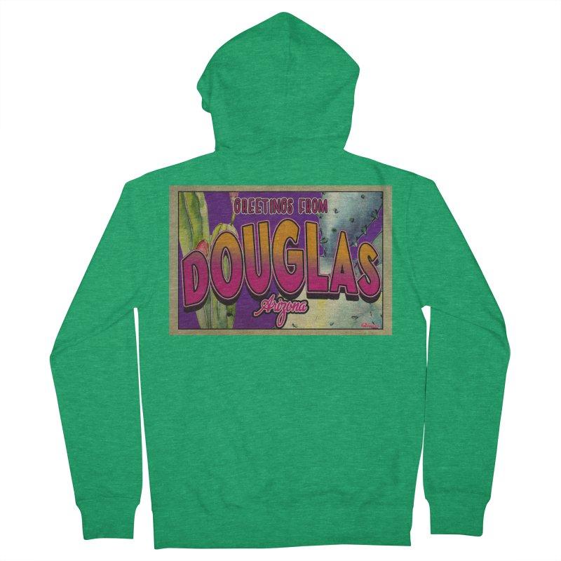 Douglas, AZ. Women's Zip-Up Hoody by Nuttshaw Studios