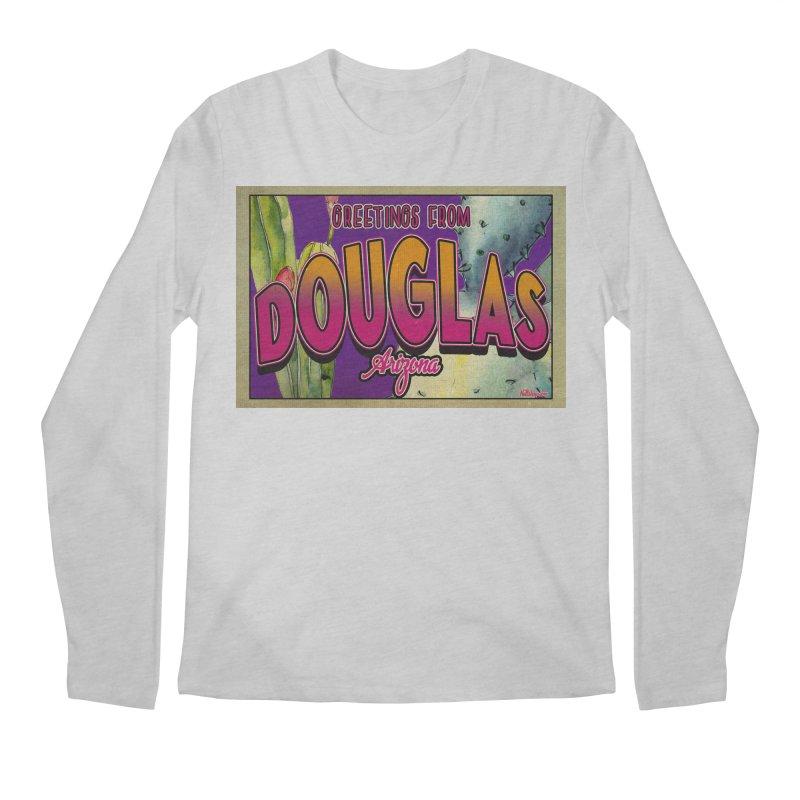 Douglas, AZ. Men's Longsleeve T-Shirt by Nuttshaw Studios